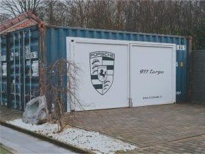 Projet garage en container