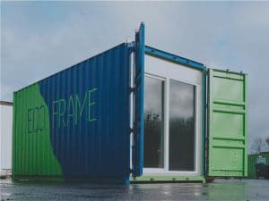 Base vie / bureau modulaire container